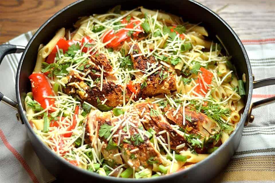 Spicy Southwest Chicken Pasta 2