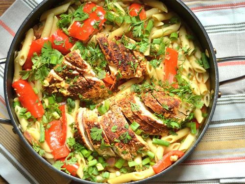 Creamy Southwest Chicken Pasta