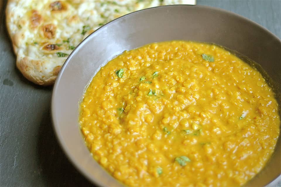 Coconut Curry Red Lentil Soup - Wholesomelicious
