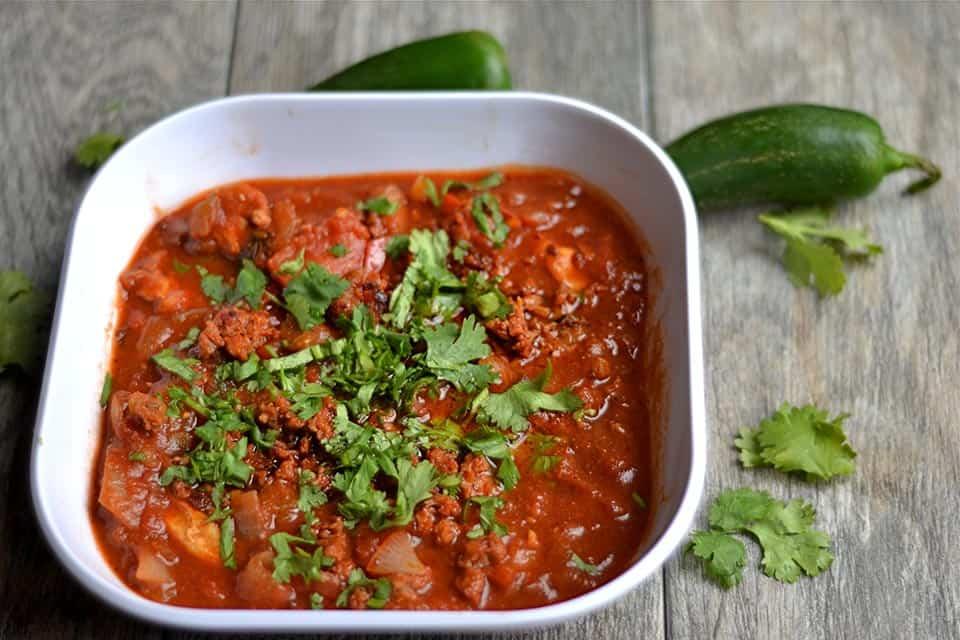 Pumpkin Chicken and Chorizo Chili 4
