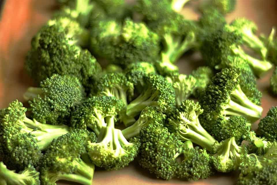 Roasted Lemon Garlic Broccoli 3