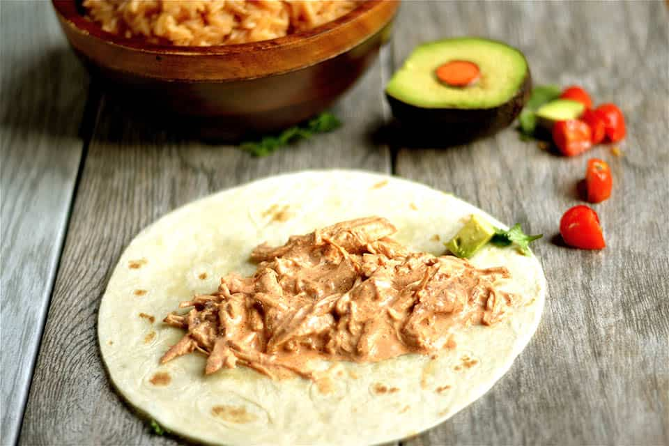 Slow Cooker Creamy Chipotle Chicken Tacos 2