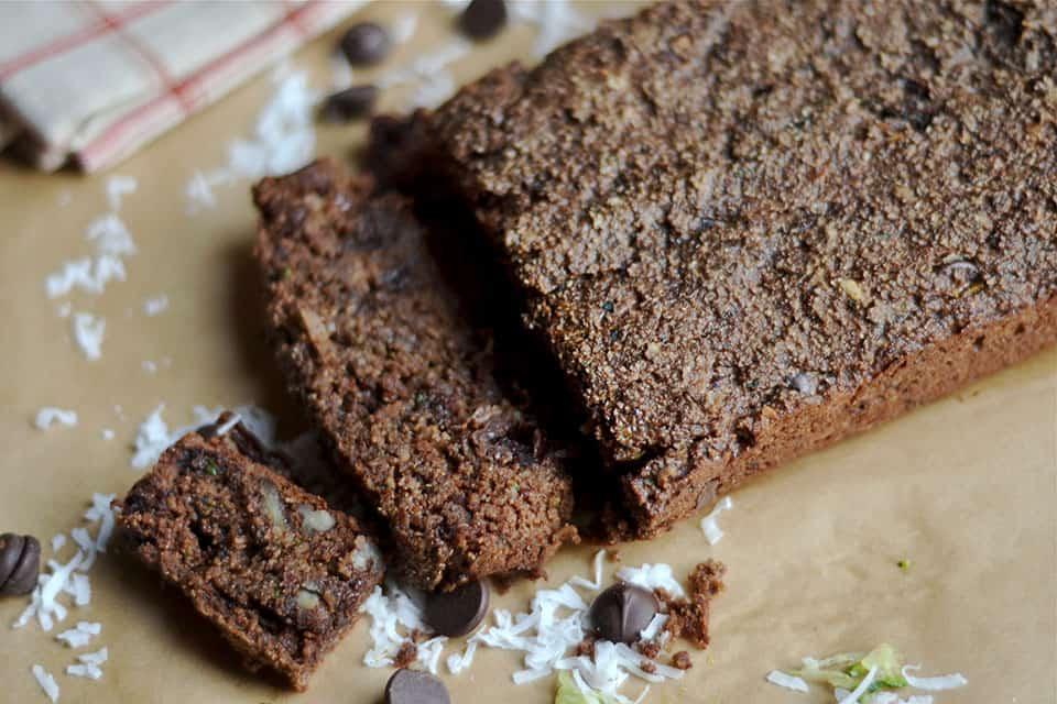 Chocolate Zucchini Bread 2