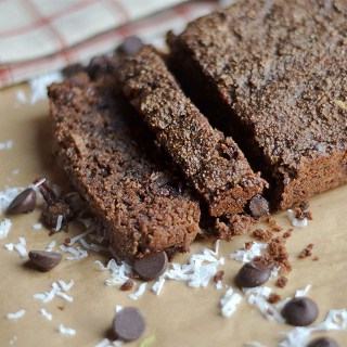 Chocolate Zucchini Bread + GIVEAWAY!!