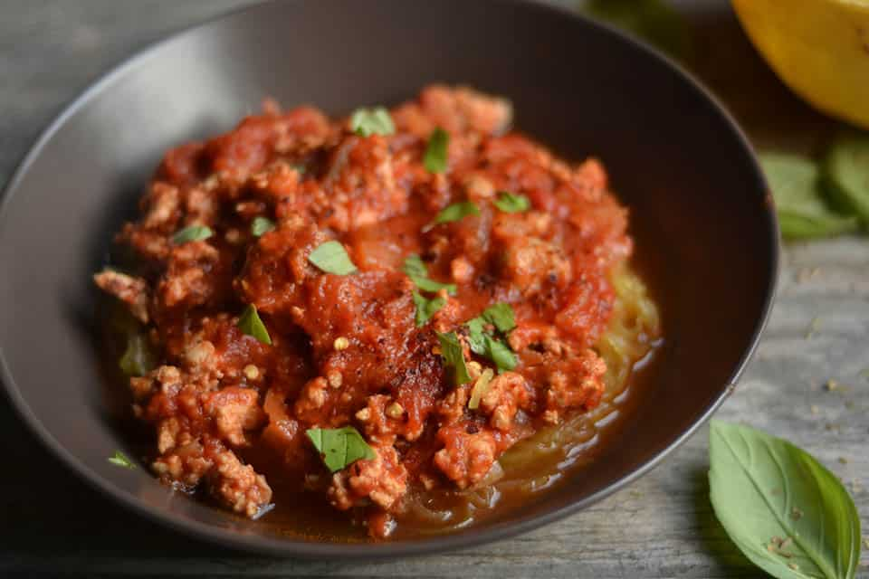 Classic Spaghetti Sauce with Ground Turkey and Sausage 3