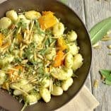 Pumpkin Seed Pesto and Butternut Squash Gnocchi