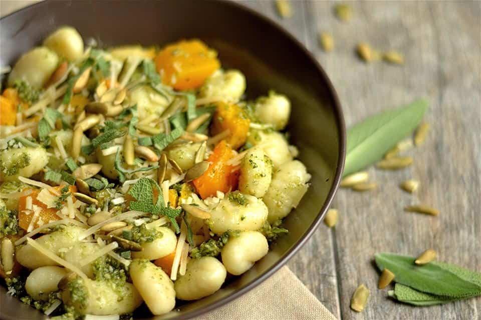 Pumpkin Seed Pesto and Butternut Squash Gnocchi 2