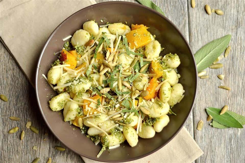 Pumpkin Seed Pesto and Butternut Squash Gnocchi 3