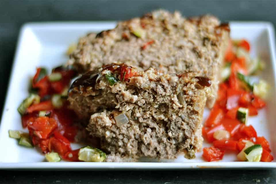 Roasted Vegetable Meatloaf with Quinoa 2