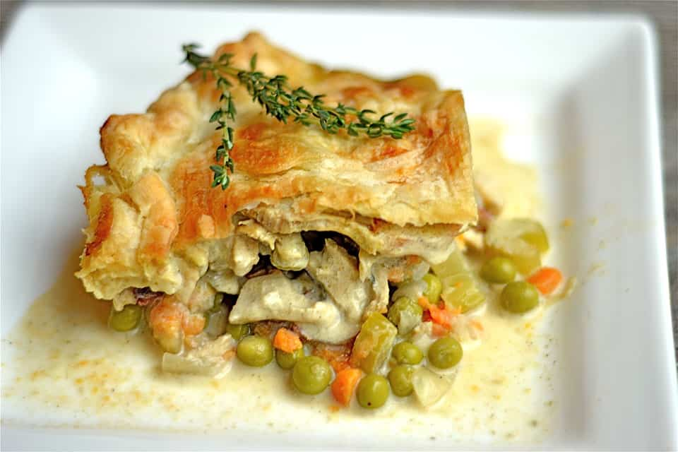 Chicken Pot Pie with Bacon