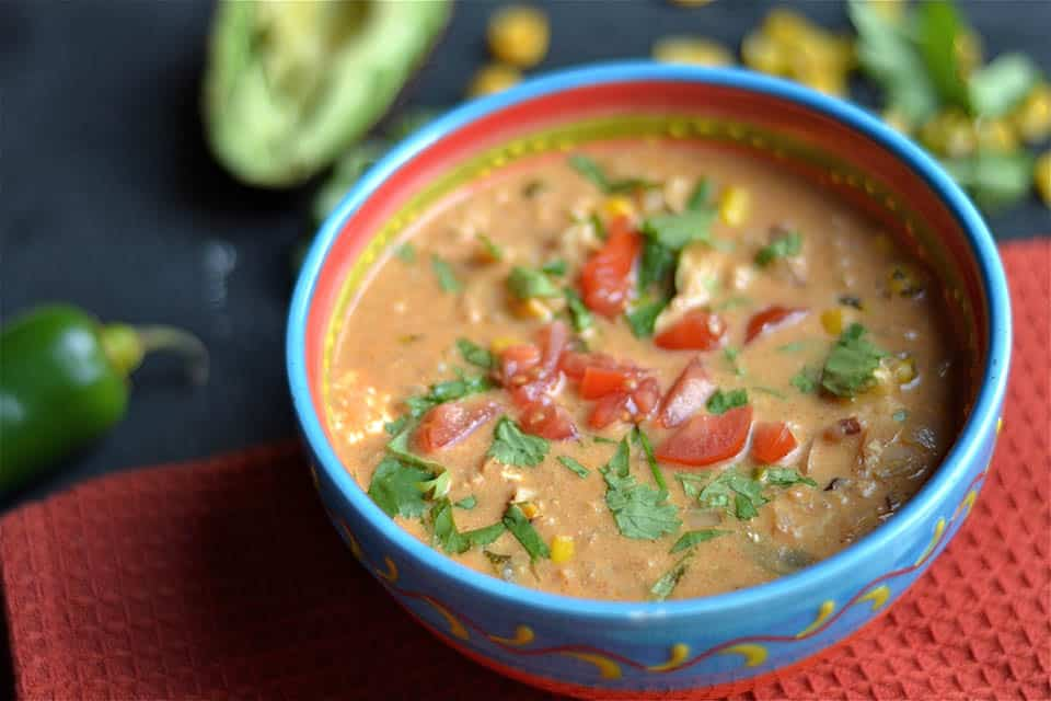 Creamy Chicken Enchilada Soup 2