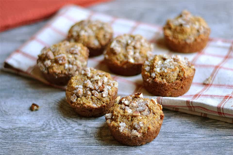 Grain-Free Gingerbread Pumpkin with Pecan Streusel 2