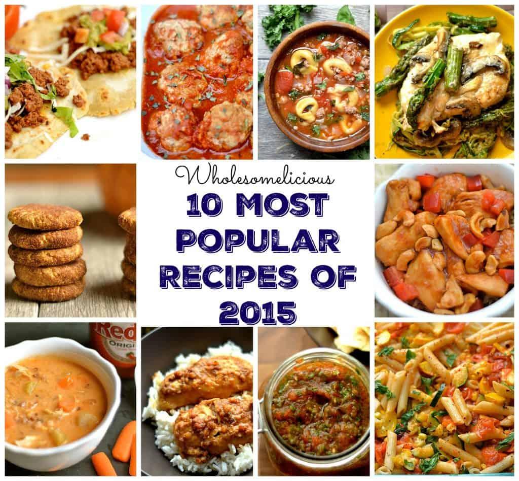 10 most popular recipes