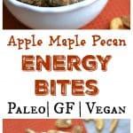 Apple Maple Pecan Energy Bites