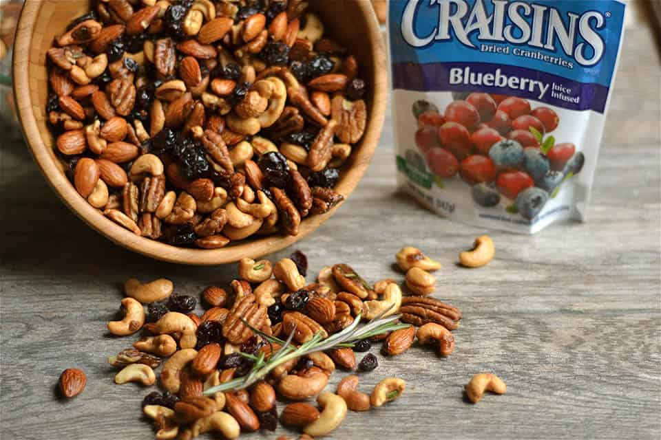 Rosemary and Chipotle Spiced Sweet Snack Mix 2