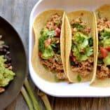 Sofritas Tofu Tacos