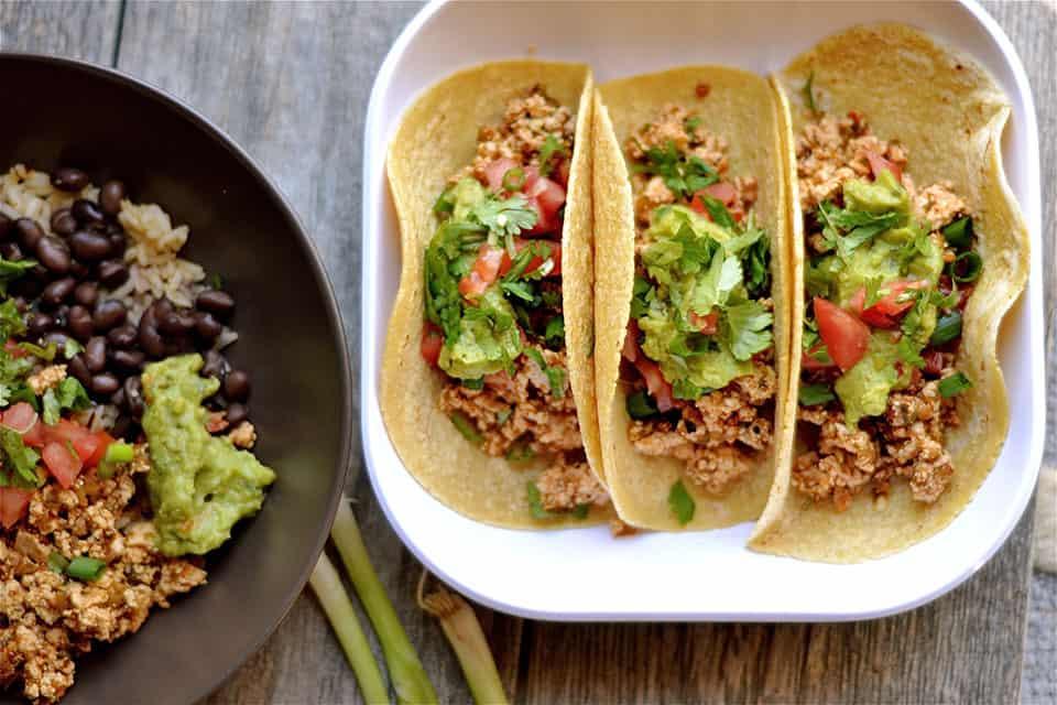 Sofritas Tofu Tacos Wholesomelicious