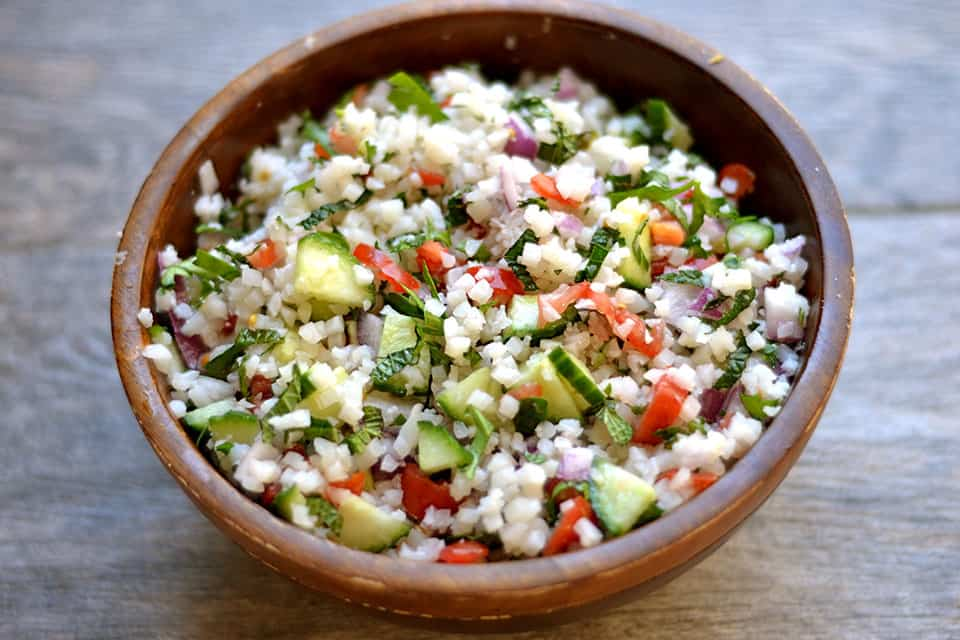 Cauliflower Rice Tabbouleh 2