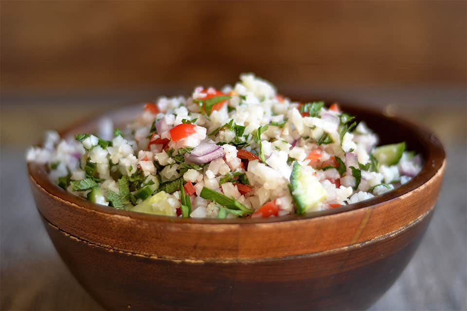 Cauliflower Rice Tabbouleh 3