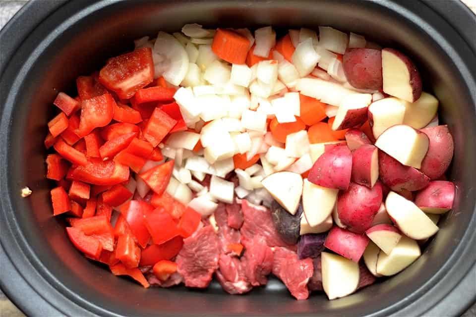 Slow Cooker Vegetable Beef Goulash Soup 3