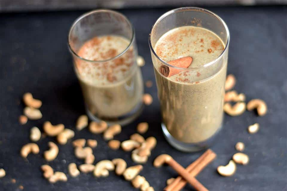 Chai Latte Protein Smoothie