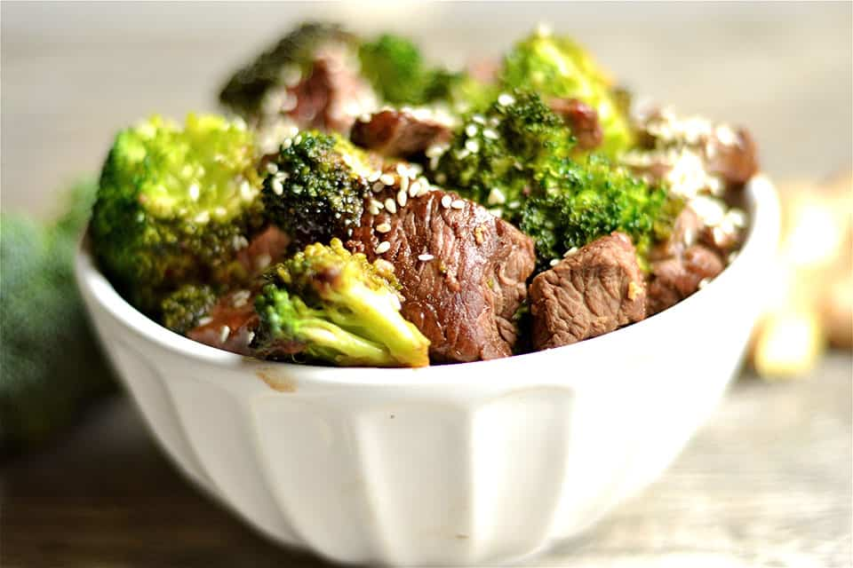 Ginger Beef and Broccoli Stir-Fry 2