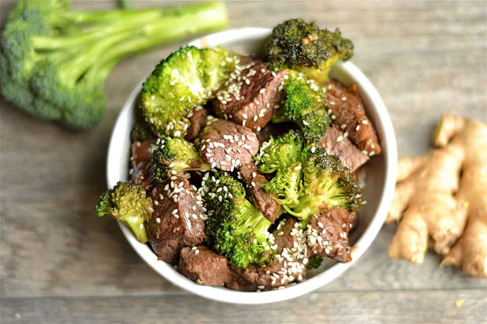 Ginger Beef and Broccoli Stir-Fry