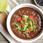 Slow Cooker Chipotle Black Bean Soup