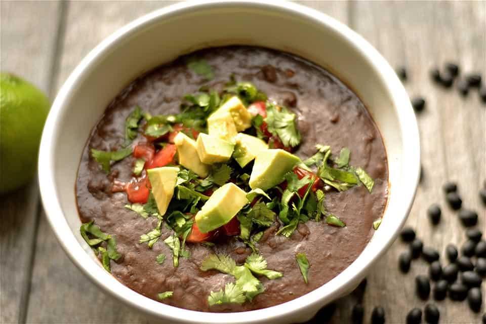 Slow Cooker Chipotle Black Bean Soup 2
