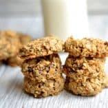 Healthy Carrot Cake Breakfast Cookies