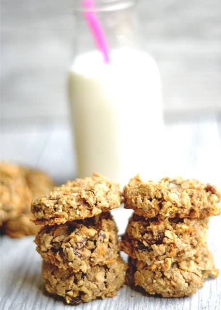 Healthy Carrot Cake Breakfast Cookies 2