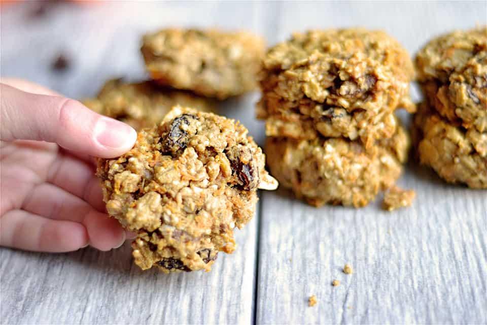 Healthy Carrot Cake Breakfast Cookies 4