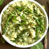 Basil and Asparagus Risotto