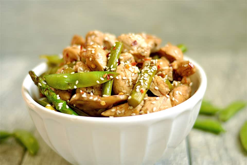 Balsamic Honey Chicken Stir-Fry