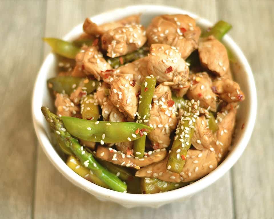 Balsamic Honey Chicken Stir-Fry 2