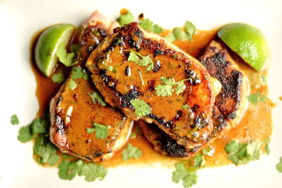 Creamy Smokey Chipotle Pork Chops copy