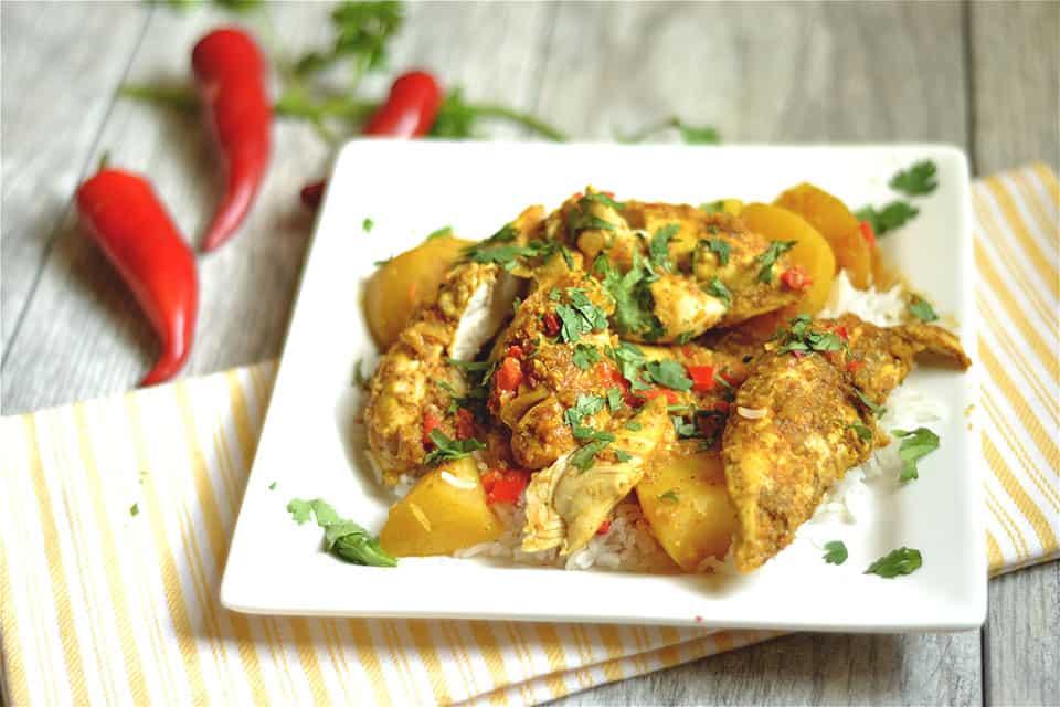 Slow Cooker Chicken Vindaloo 2