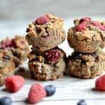 Grain-Free Berry Banana Muffins