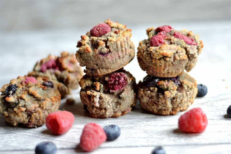 Grain-Free Berry Banana Muffins 3