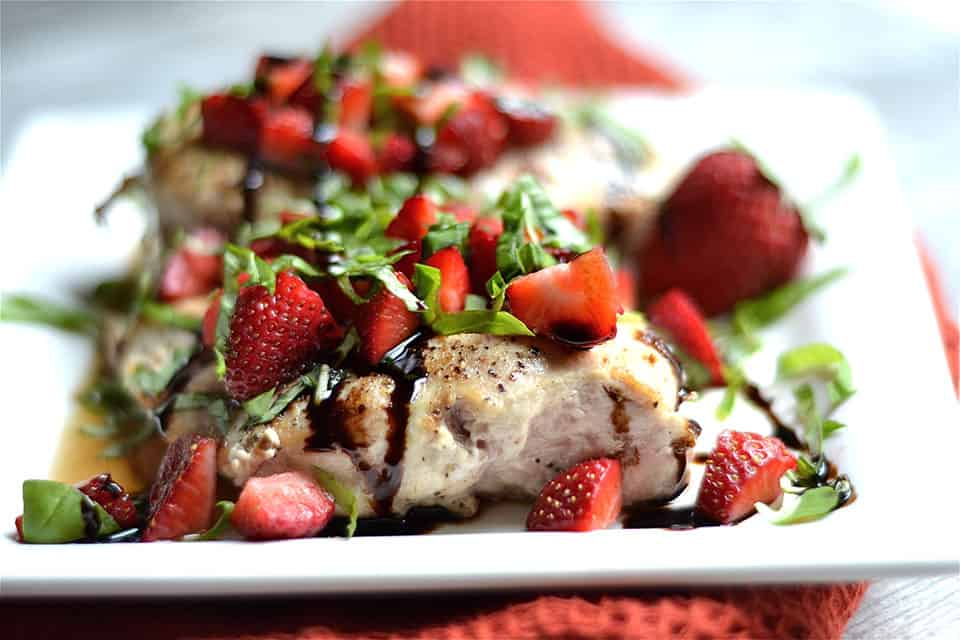 Strawberry Basil Chicken