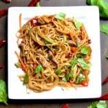 Thai Beef Drunken Noodles