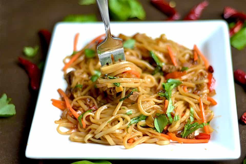 Thai Beef Drunken Noodles 2