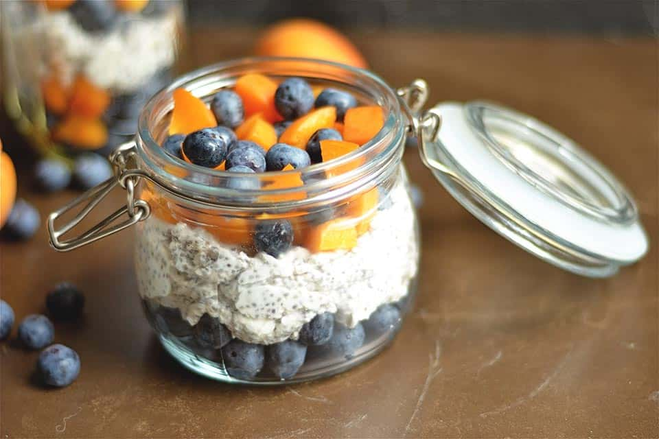 Apricot Blueberry Chia Pudding 2