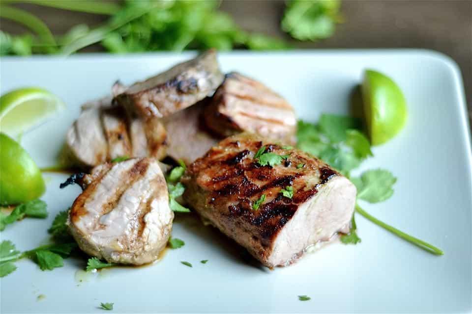 Cilantro Lime Grilled Pork Tenderloin 2