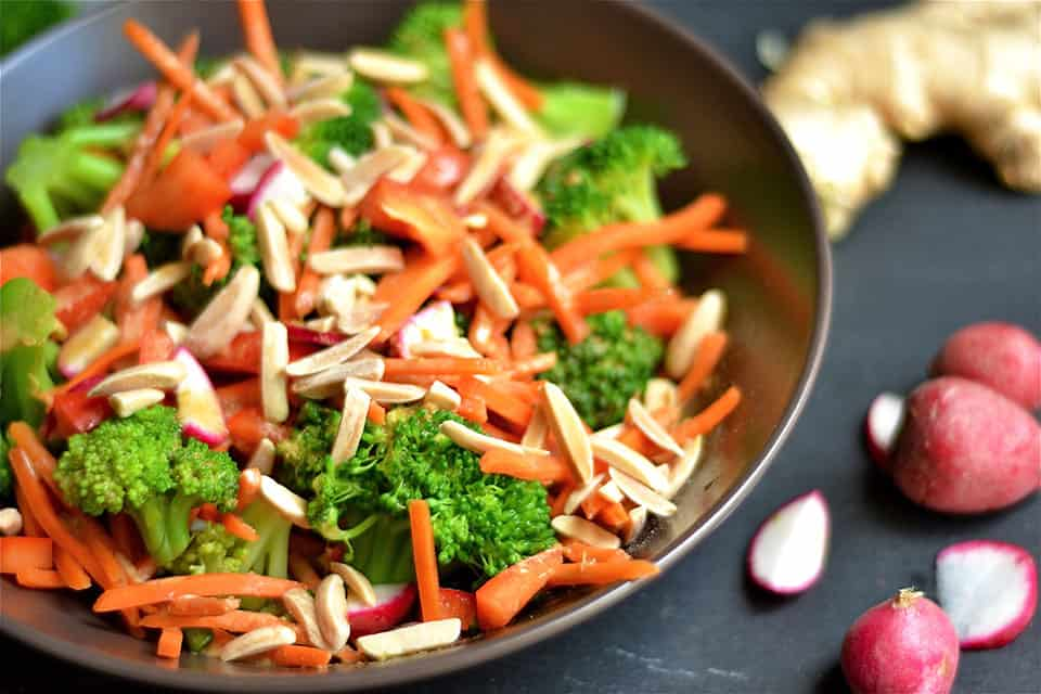 Asian Broccoli Salad 2