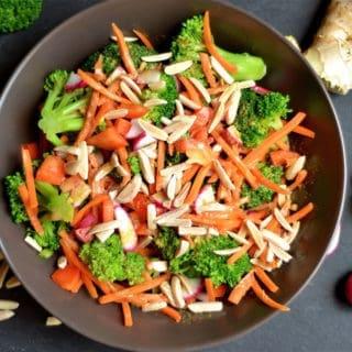 Asian Broccoli Salad (Vegan, Paleo, Whole30)