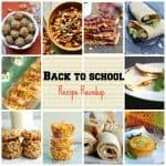 Back To School Recipe Roundup!!