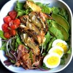 Grilled Honey Mustard Chicken Cobb Salad