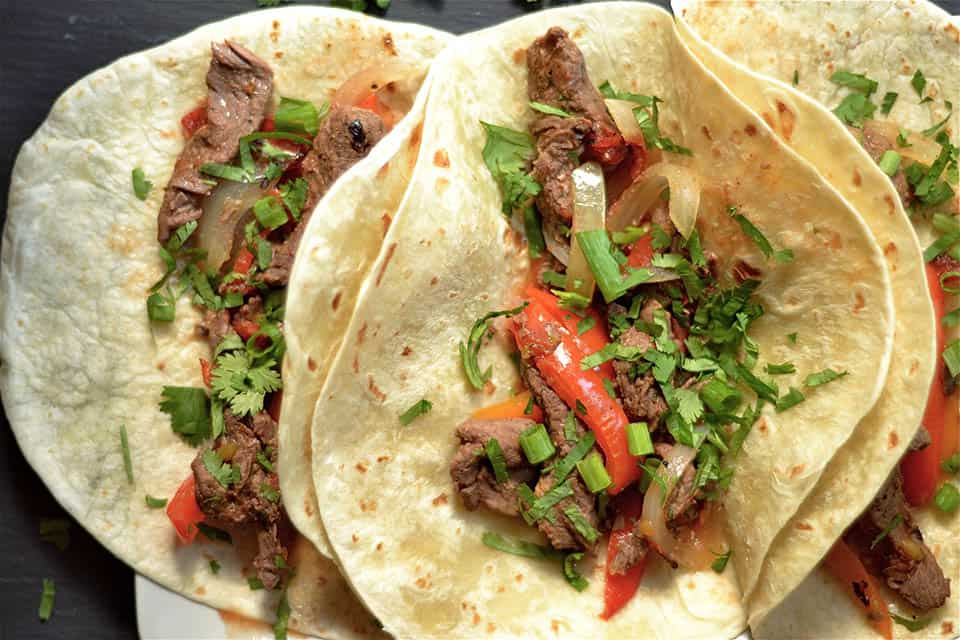 Slow Cooker Steak Fajitas 2