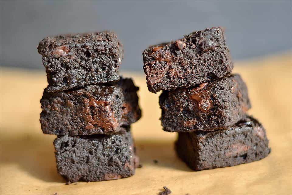 THE BEST Dark Chocolate Brownies 2